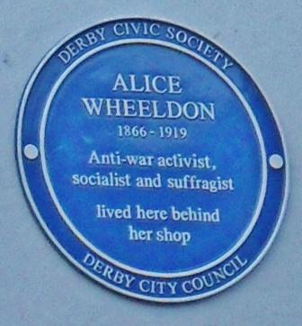 Alice Wheeldon blue plaque11-16108