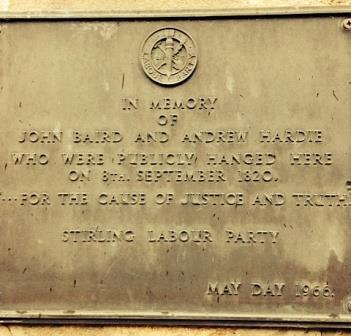 Andrew Hardie and John Baird plaque11-18260