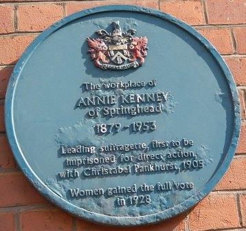 Annie Kenney plaque11-23423