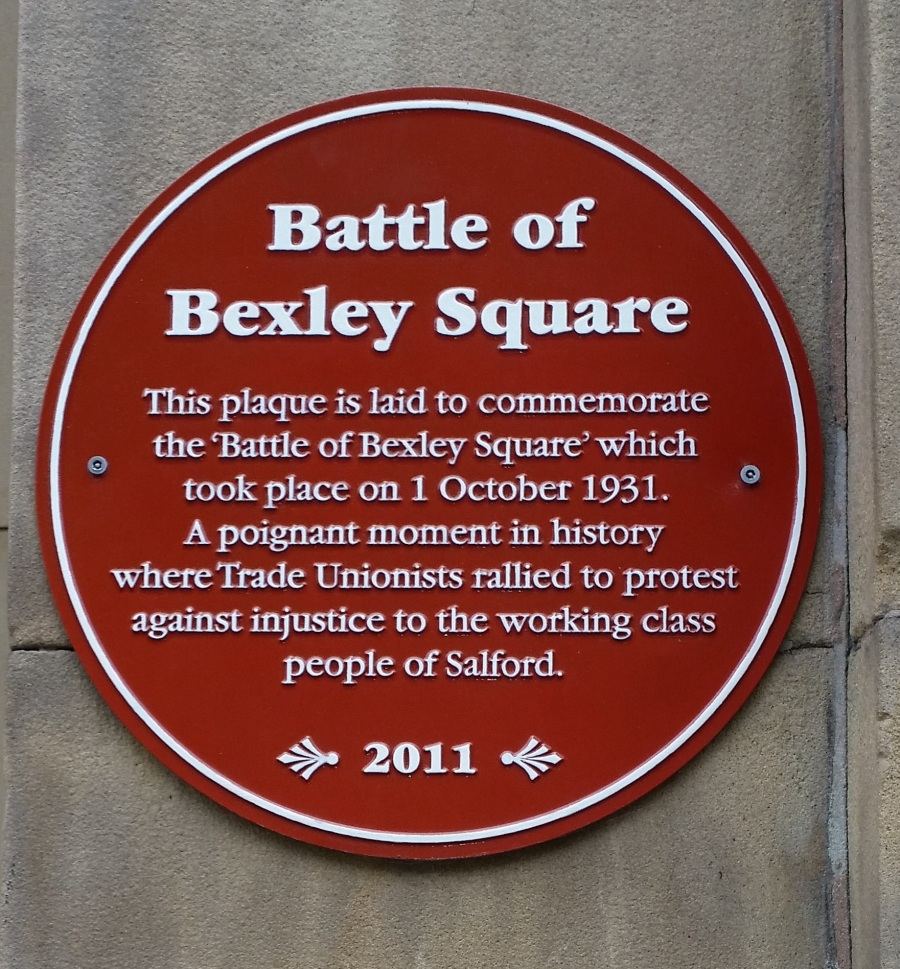 Bexley Square plaque 111-32093