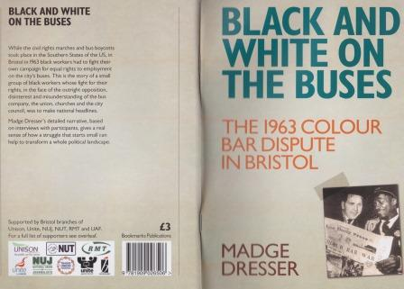 Black and White on the Buses - book cover11-19866