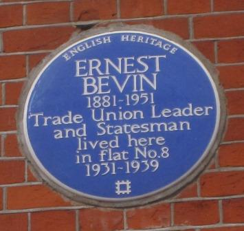 Ernest Bevin plaque11-17310