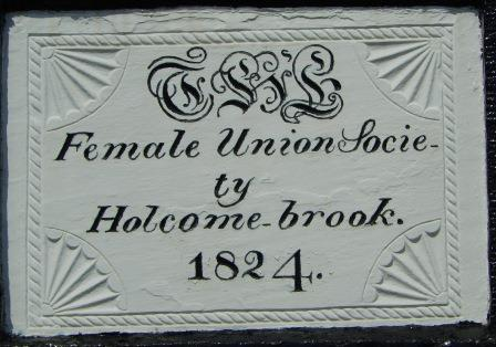 Female Union Society plaque11-18042