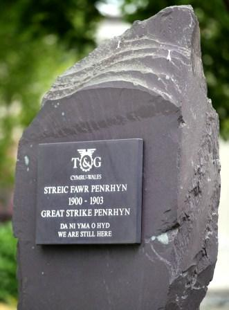 Great Strike Penrhyn Quarry memorial11-12919