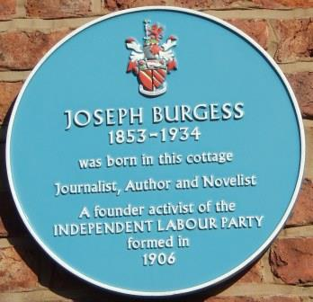 Joseph Burgess blue plaque11-23497