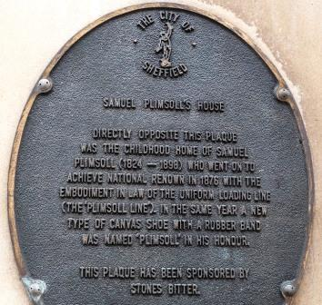 Samuel Plimsoll plaque11-26197