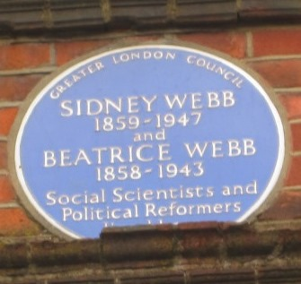 Sidney and Beatrice Webb plaque11-17842