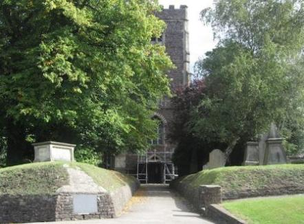St Woolos church - Chartist's burial place11-14161