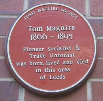 Tom Maguire plaque11-15862