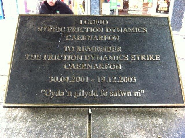 The highly impressive Friction Dynamics strike plaque
